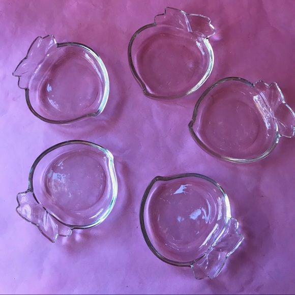 Vintage Other - Vintage thick glass dishes